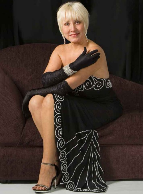 Linda Lee Michelet Black Dress